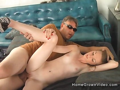 Teenager fucked by her step dad on live cam