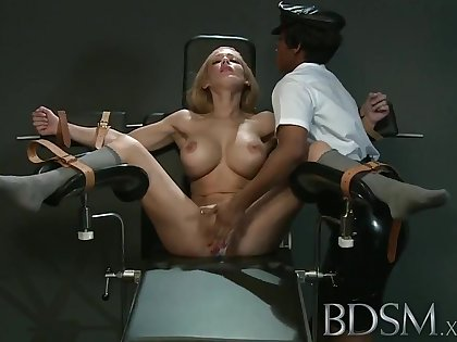 BDSM XXX Related girl gets orgasm from irascible Mistress