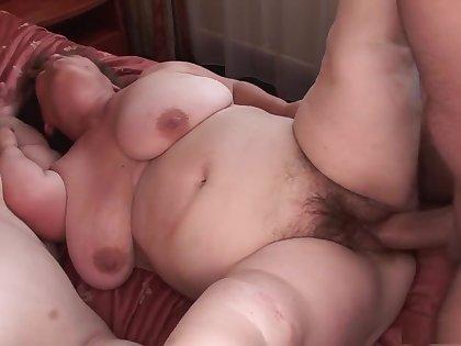 Best pornstars Gidget The Monster Midget and Duli Fuli in astonishing gangbang, big bosom porn clip