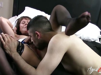 AgedLovE Mature Lady Got Hardcore Pussy Be captivated by