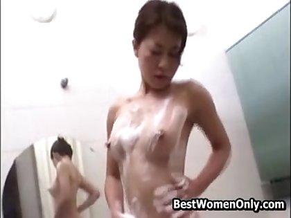 Hottie Spying My Asian Japanese Stepmom Masturbating