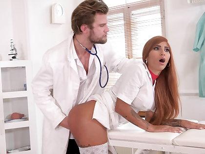 Weird doc makes nurse spew