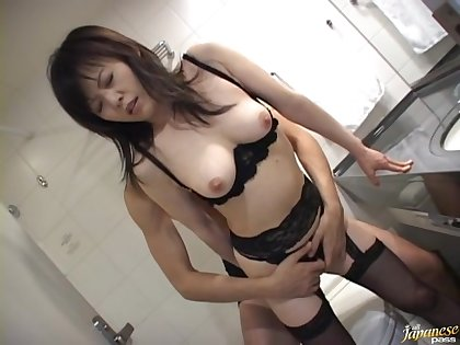 Nothing makes Hazuki Takashima as A happy as A getting her cunt banged