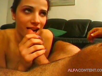 Hot Lord it over Brunette Impenetrable depths Throats - Chloe Adams